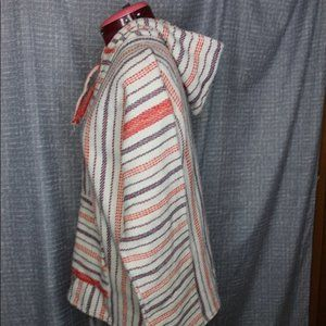 Vintage Tops - Vintage Woven tunic with hood